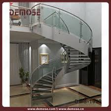 Circular Stairs Design China Steel Handrail Spiral Stairs Design For Home Dms 1029