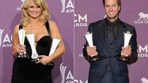 awn awards miranda lambert and luke bryan win big at 2013 acm awards