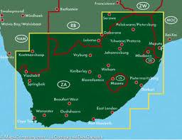 Port Elizabeth South Africa Map by Map Of South Africa Freytag U0026 Berndt U2013 Mapscompany