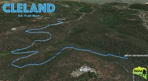 Map Running Routes by The Cleland Trails