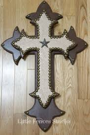 wood crosses for crafts western craft ideas large wood western rustic leather cross