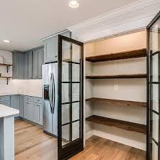 Pantry Shelving Ideas this traditional kitchen optimizes its space using a built in