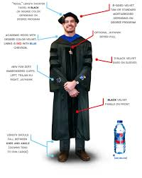 doctoral graduation gown ku bookstore doctorate candidate regalia