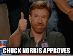 Meme Chuck Norris - chuck norris approves chuck norris approves quickmeme