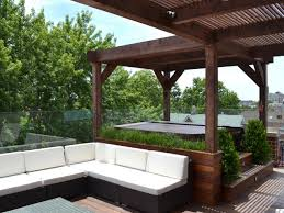 backyard patio ideas with tub home outdoor decoration