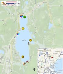 Silver Line Boston Map by Boston Kayaker Kayaking On Silver Lake In Madison Nh
