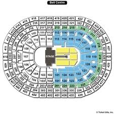Centre Bell Floor Plan Bell Centre Seating Charts