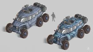 future military jeep human off road vehicle concept art by zacharias reinhardt