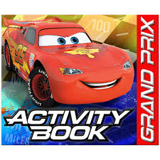 disney cars dream party birthday activity book 4ct cars dream