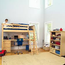 bunk beds how to make a bunk bed with desk underneath awesome
