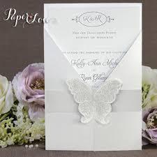handmade wedding invitations handmade gatefold wedding invitations butterfly seal paper
