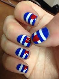 red white and blue nail design nail designs pinterest blue
