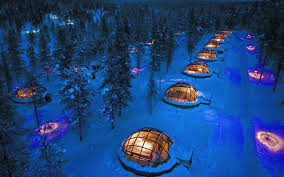 sleep under the northern lights sleeping under the northern lights that s what you can do at this