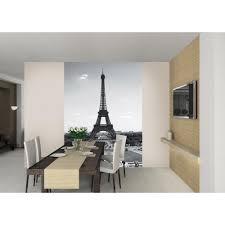 Eiffel Tower Wallpaper For Walls Wall Paris Eiffel Tower Wallpaper Mural 1 58m X 2 32m