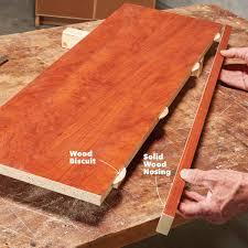 Laminate Floor Nosing Learn How To Use Melamine Family Handyman