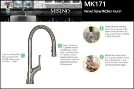 Kitchen Faucet Head by Faucet Com Mno171ass In Stainless Steel By Miseno