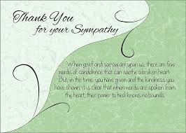 thank you sympathy card pastel green with vintage scrolls