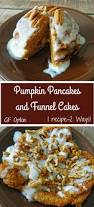 pumpkin pancakes and funnel cakes
