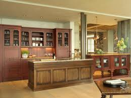 Large Kitchen Cabinet Rustic Kitchen Cabinets Ideas For Large Rustic Kitchen With Candle