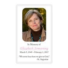 memorial card memorial card layout d topmemorial