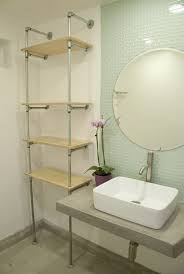 Galvanized Pipe Shelving by How To Build An Ace Hotel Inspired Plumbing Pipe Shelf Plumbing