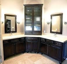 Design For Corner Bathroom Vanities Ideas Corner Vanities Bathrooms Splendid Ideas Corner Sink