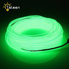 cheap on sale cheap 2 3 5m bendable el wire led lights neon