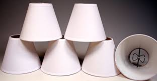 Lamp Shades For Chandeliers Small Creative Hobbies Small 4 Inch Cream Color Linen Fabric Lamp