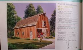 gambrel roof multipurpose barn something like this for our next