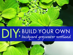 Making A Backyard Putting Green How To Build A Simple Backyard Greywater System Inhabitat
