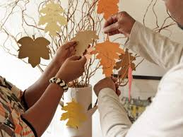 Thankful Tree Craft For Kids - new thanksgiving tradition create a thankful tree hgtv