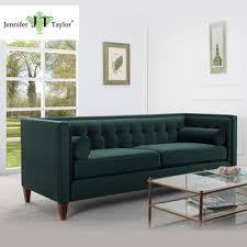 canapé vert meubles de maison de style américain canapé de velours salon forte
