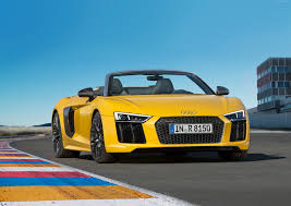 2016 audi r8 wallpaper wallpaper audi r8 nyias 2016 supercar yellow cars u0026 bikes 9901
