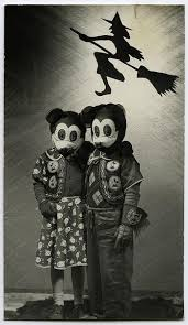 13 vintage photos of scary halloween masks project b vintage