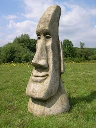 stunning easter island garden tiki statue view more on the
