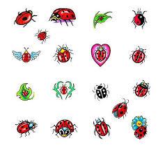 Ladybug And Flower Tattoos - 14 latest ladybug tattoos designs