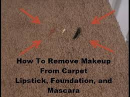 How To Remove Rug Stains How To Remove Makeup From Carpet Youtube