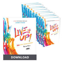 Challenge Up Live It Up 30 Day Challenge Curriculum 2