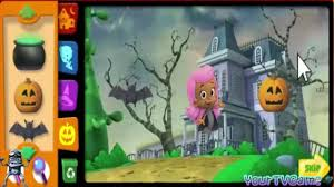 bubble guppies halloween party game movie video dailymotion