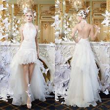 Short Wedding Dresses Lace Halter Neck Short Wedding Dresses Ebay