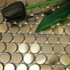 Metallic Tile Backsplash by Online Get Cheap Gold Tile Backsplash Aliexpress Com Alibaba Group