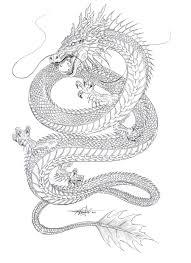 pinks dragon tattoo 2 chinese dragon drawing by me u2026 pinteres u2026