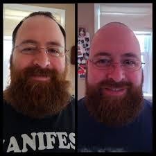 haircut and trim before and after beards