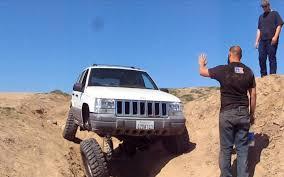prerunner jeep jeep grand cherokee 4x4 project zj iron rock offroad long arm flex