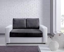 canap 2 places blanc canapé 2 places esther blanc et noir