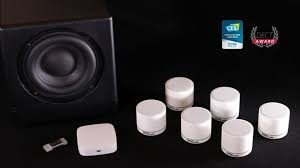 best compact home theater speakers world u0027s only 5 1 true wireless surround small size big sound by