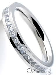 stainless steel engagement ring 3 5mm women s stainless steel 316l princess cut cz eternity ring
