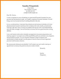 14 personal assistant cover letters emails sample
