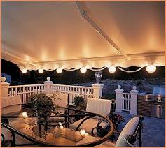 patio string lights white cord home design ideas
