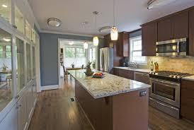 Outdoor Island Kitchen by Kitchen Galley With Island Floor Plans Uotsh